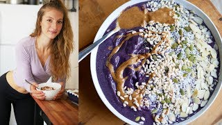 WHAT I EAT IN A DAY/ FULL DAY OF EATING | VEGAN & EASY