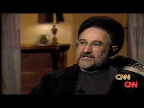 CNN September 08: 1998 Khatami interview part 5 (Originally aired January 07, 1998)