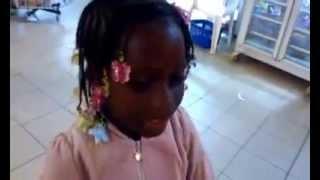 My Daugther Abidjan Airport...Travel Time