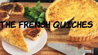 Leeks and Onion Quiche  ( great starter recipe for vegetarians)