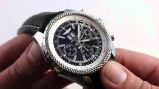 Breitling for Bentley 6.75 Luxury Watch Review(, 2016-04-02T11:00:00.000Z)
