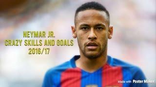 Neymar Jr. • Glowing at Night • Insane Skills & Goals • 2016/17 • HD