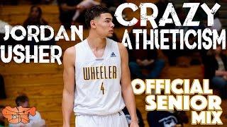 USC Commit Jordan Usher has CRAZY ATHLETICISM!!! | Official Senior Mix