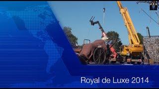 Royal de Luxe 2014 - La Grand-Mère et Le Petit Géant