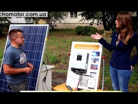 Как подключить солнечную батарею к аккумулятору
