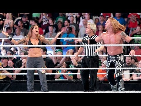 Lita vs. Heath Slater: Raw, July 23, 2012