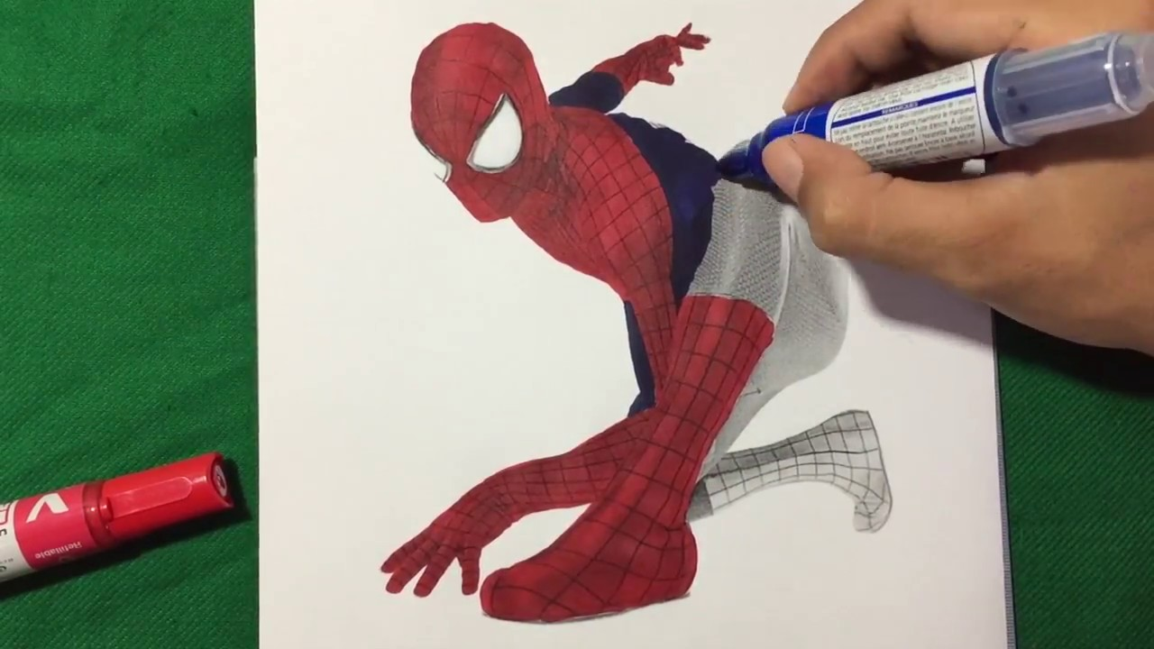 THE AMAZING SPIDERMAN 2 Creep Coloring Pages SAILANY Coloring Kids ...