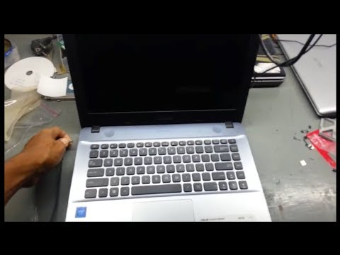 Laptop Asus X441s Langsung Mati Pas Adaptor Dicabut Youtube