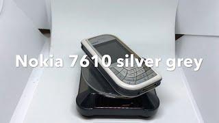 Nokia 7610 Silver Grey, Unlocked, Rare Phone, 100% Original
