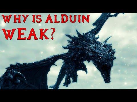 Why is Alduin So Weak in Skyrim? - Elder Scrolls Theory thumbnail