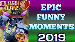 Funny coc videos|Funny coc moments 2019|Montage video|Clash of clans|KS Gaming