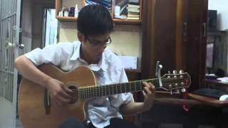 nơi tình yêu bắt đầu  guitar fingerstyle by leanhducsieucap  12a3 ththdhsp