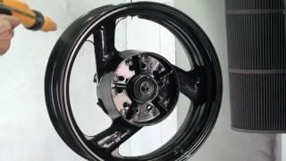 Покраска мотоциклетного  диска(, 2016-05-14T11:46:48.000Z)