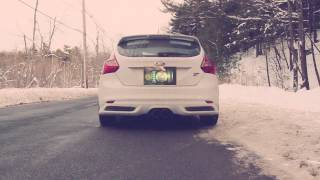 2014 Focus ST - Cobb Tuning Turboback Exhaust Sound by BarbWalters