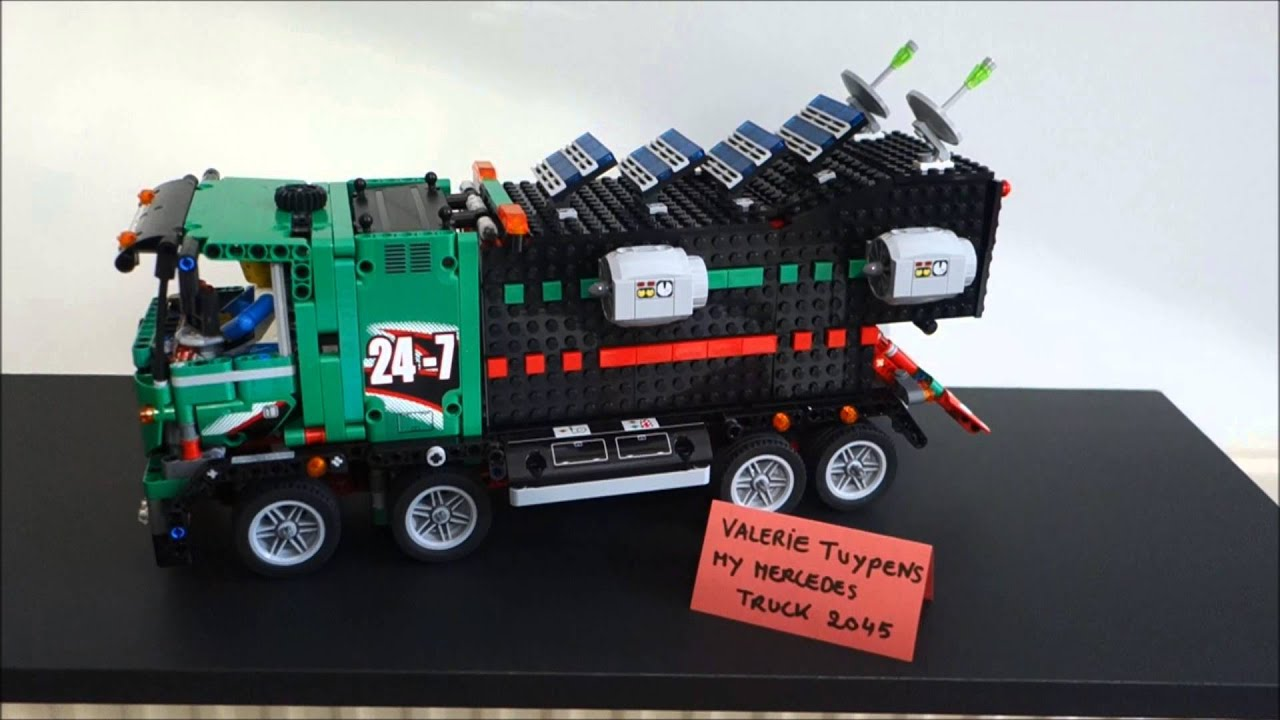 Valerie Tuypens Entry For Lego Technic Mercedes Benz Future Truck Compeion