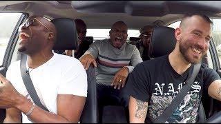 In de auto met Jandino, Roué, Murth en Howard: Dit zijn onze slechtste grappen