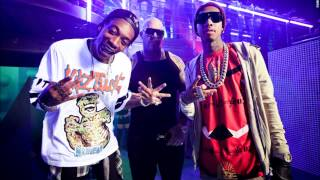 Mally Mall feat. Wiz Khalifa, Tyga & Fresh - Drops Bands On It