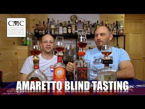 Amaretto Blind Tasting / Review: Disaronno, Lazzaroni, di Amore & Luxardo di Saschira