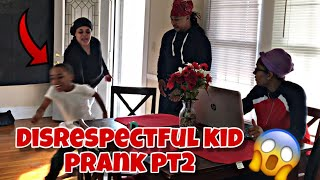 DISRESPECTING MOTHER PRANK!!! ( very funny)
