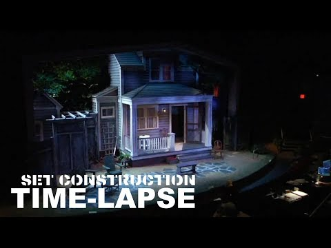 All My Sons Set Construction Time-lapse  (Palm Beach Dramaworks)