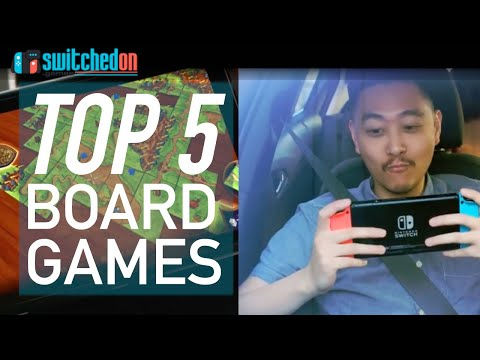 Top 5 Board Games On The Nintendo Switch!