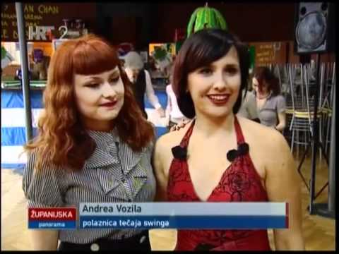 Swing dance klub - BACK TO SWING Zagreb, HRT 2 - YouTube