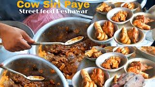 Frist Time Peshawar Main Cow Siri Paye   Street food Peshawar   Siri Paye peshawar