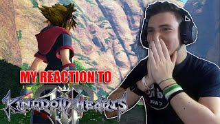 MY REACTION to KINGDOM HEARTS III GAMEPLAY - E3 2015 [ITA HD]
