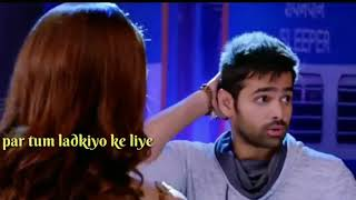 Ram mind blowing dialogue for love hindi WhatsApp status lyric video