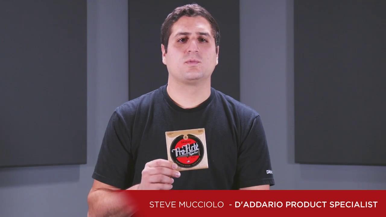 67ce2f133206 D Addario Pro-Arte Classical Guitar Strings - YouTube
