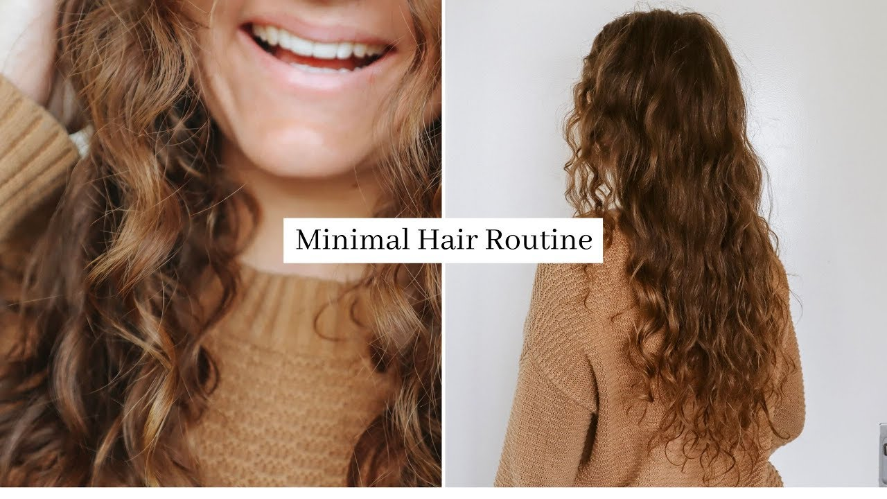 Minimalist Hair Care Routine Curly Girl Method Youtube