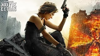 Resident Evil: The Final Chapter - Special Features clips