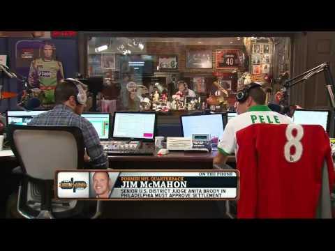 Jim McMahon on The Dan Patrick Show 8/30/13