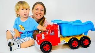 Вместе с мамой: учим название машин. Развивающие видео игры для детей.
