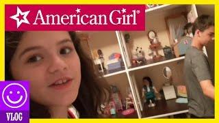 HUGE 4 STORY CUSTOM AMERICAN GIRL DOLL HOUSE TOUR!     KITTIESMAMA 161