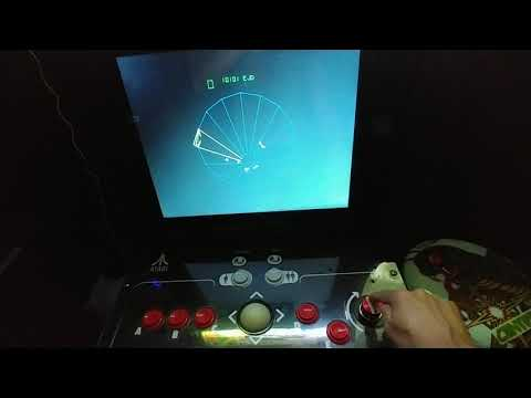 Arcade1Up Tempest spinner sensitivity test with three different spinners from phillychick