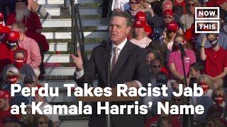 Senator Perdue Mocks Kamala Harris's Name | NowThis