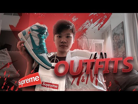 ¡MIS MEJORES OUTFITS! (SUPREME,OFF WHITE,PALACE,NIKE)MI MEJORES OUTFITS PARA ESTE INVIERNO!