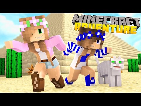 Minecraft - Little Kelly Adventures : ATTACKED BY MUMMIES IN EGPYT!
