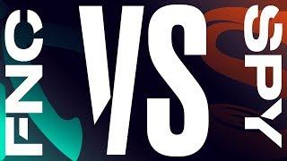 FNC vs. SPY - Week 5 Day 1 | LEC Spring Split | Fnatic vs. Splyce (2019)