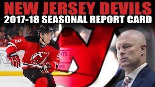 New Jersey Devils 2017-18 Seasonal Report Card
