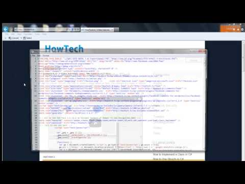 How to View Website Source Codes