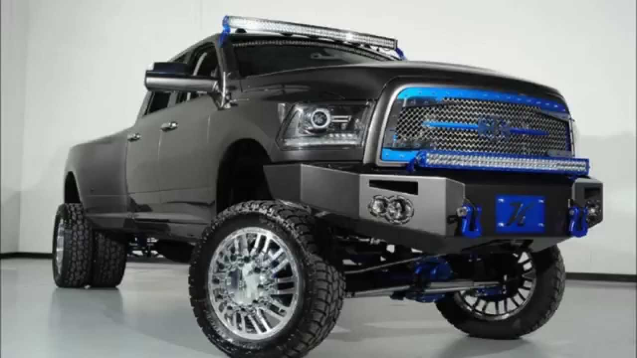 lifted 2014 ram 3500 longhorn limited dually diesel custom truck youtube - 2015 Dodge Ram 3500 Lifted