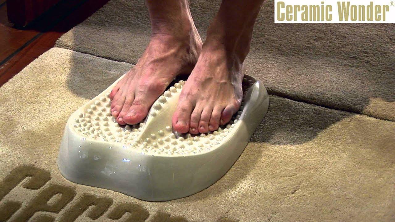 Massage tools Feet reflexology station by Ceramic Wonder
