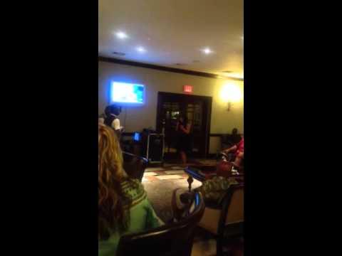 Tupac Dear Mama karaoke. Jamaicans freak out!!