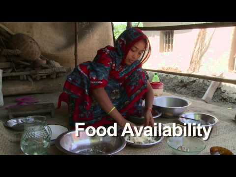 Linking food safety to food security