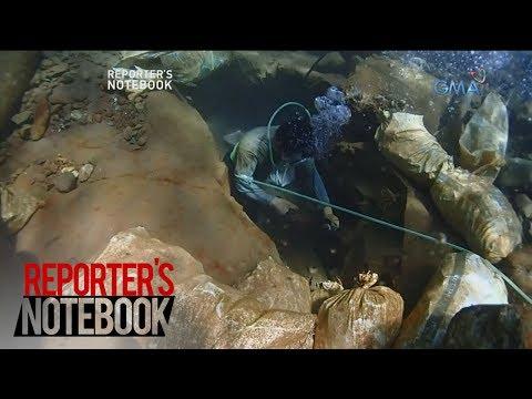 Reporter's Notebook: Mag-ama, nakasalalay sa pagmimina ng ginto sa pusod ng dagat ang pamumuhay
