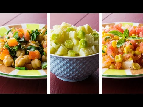 3 Easy Vegan Recipes For Weight Loss