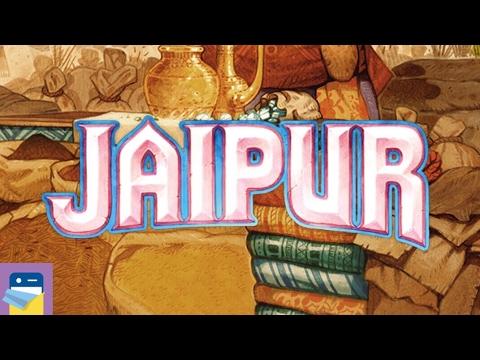 Jaipur: A Card Game of Duels: iOS iPad Gameplay Walkthrough (by Asmodee Digital)