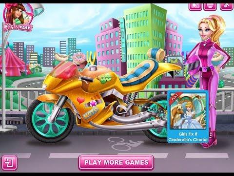 Игра Барби на мотоцикле играть онлайн